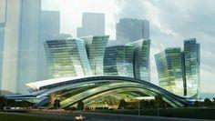 futuristic architecture - Szukaj w Google