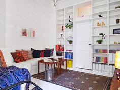 garzon hálófülke galériaágy helykihasználás kreatív skandináv stílus kis lakás