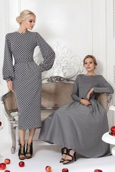 Pre Fall Collection 15 Source by arianeowl Modest Dresses, Simple Dresses, Elegant Dresses, Pretty Dresses, Casual Dresses, Modest Fashion, Hijab Fashion, Fashion Dresses, Classy Outfits