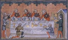 The personal journeys to experiencing and researching cuisine of the Middle Ages & Renaissance