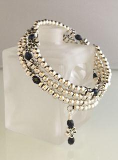 Lapis Czech beads