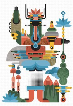 Colorful Vector Illustrations by Fernando Togni