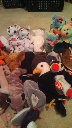 c187deda377 Several Ty Beanie Babies for sale all mint condition kept in bags with tag  protectors please leave a comment if interested in purchasing