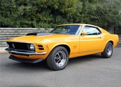 Boss 429…  1970 Grabber Orange Mustang SportRoof
