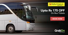 Any Travel Plans For Long Weekend? You Can Save On Bookings. #MyBusTickets Offers Upto Rs 175 OFF. http://www.grabon.in/mybustickets-coupons/ #SaveOnGrabOn