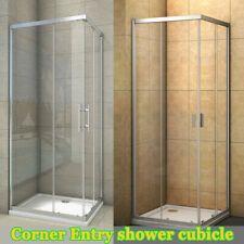 Corner Entry Shower Enclosure Walk In Wet Room Cubicle Sliding Door New Ci Trays Ebay In 2020 Shower Enclosure Shower Cubicles Quadrant Shower Enclosures