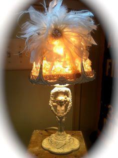 So Chic Cherub Lamp. $98.00, via Etsy.