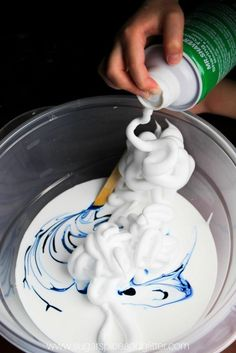 Ever since we first published our fluffy, squishy (secret ingredient) slime recipe almost 3 years ago, I've been getting requests to make a fluffy slime without the use of liquid starch or diaper crystals… so it's about time that I developed this easy Best Fluffy Slime Recipe, Making Fluffy Slime, Easy Slime Recipe, Making Slime, Diy Fluffy Slime, Slime Craft, Diy Slime, Glue Slime, Homemade Slime