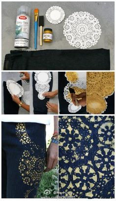 I'm loving this site for DIY creations - it's not in English but most of the ideas are easy enough to follow from the pics.