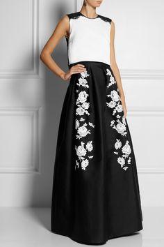 Erdem|Green Carpet Challenge: Mildred embroidered silk-blend gown|NET-A-PORTER.COM