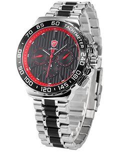 Bild Shark Herren Uhr Edelstahl Armband…