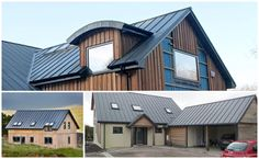 Contemporary Dormer with ColorCoat Urban Anthracite on roof