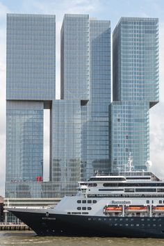 Rotterdam Architecture, Space Architecture, Beautiful Architecture, Rotterdam Port, Holland America Line, Unusual Buildings, Holland Netherlands, Rem Koolhaas, Excursion