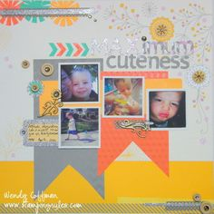 CTMH Dream Pop layout by Stamping Rules!