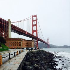 It's always great to visit the Bay Area. Fort Point is a great location with sweeping views.