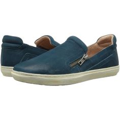 Miz Mooz Regina Women's Slip on Shoes, Blue (4.865 RUB) ❤ liked on Polyvore featuring shoes, flats, blue, slip on flats, miz mooz footwear, slip-on shoes, blue shoes and cushioned shoes