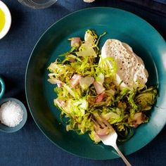 Paul Kahan's Shaved Brussels Sprout Salad With Burrata | Slow Food Fast - WSJ.com