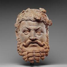 Head of Dionysus  Pakistan, 4th-5th century  The Metropolitan Museum of Art