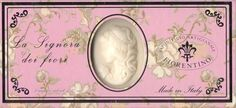 Saponificio Artigianale Fiorentino's La Signora Dei Fiori Cameo 3 x 4.37oz. Soap Gift Set From Italy by Saponificio Artigianale Fiorentino. $25.47. Imported From Italy. Beautiful  Pale Pink White Floral Gift Box. Handmade With No Artificial Colorings Or Detergents. Sweet Floral Scent. Ivory Oval Shaped Soap Bars With An Embossed Womans Cameo. Saponificio Artigianale Fiorentino's La Signora Dei Fiori Cameo 3 x 4.37oz. Soap Gift Set From Italy, This magnificent collectio...