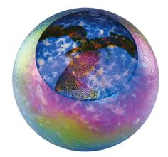 Hand Blown Glass Paperweights | Hand Blown Glass Paperweight - Supernova
