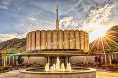 """Brightly Beams"" Provo, Utah LDS Temple www.reflectedpixel.com"