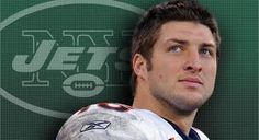 Tebow and the Jets!!!!  Hope you choke on that 96-98 mill Elway!!! ;-)  I love my Tim Tebow no matter where he goes ♥