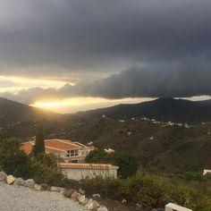 Selv dårligt vejr ser godt ud i bjergene