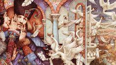 The Wild Swans (Queen Whispering) - anne yvonne gilbert