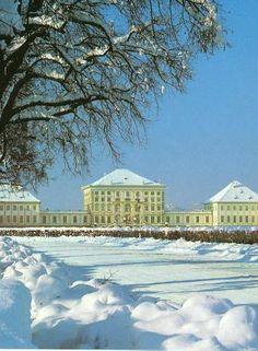 Winter in Nymphenburg, Munich - Germany
