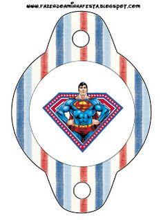 Imprimibles de Superman 4.