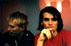 Thom Yorke and Jonny Greenwood