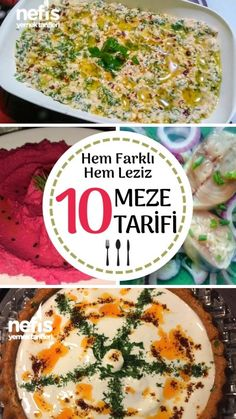 Different appetizer recipes crowning the main dishes are the most …- Ana yemekleri taçlandıran farklı … Potato Appetizers, Appetizer Salads, Easy Appetizer Recipes, Healthy Appetizers, New Recipes, Soup Recipes, Cooking Recipes, Easy Recipes, Different Recipes