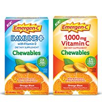 Received a free box of Emergen-C Chewables complements of Smiley360  with the prupose of trying them and sharing my honest opinion.