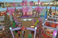 Christmas at the Curve Mall, Malaysia