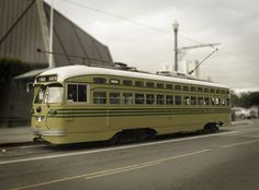 Trolley: San Francisco maintains a fleet of historic trolleys that service the city every day. Don't be surprised to see a 1934 open air 'boat car' from Blackpool, England or a street car that predates the 1906 earthquake carrying commuters along the Embarcadero.