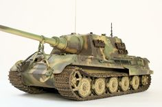 Tiger Ii, Model Tanks, Armored Fighting Vehicle, Military Modelling, Ww2 Tanks, Military Diorama, Panzer, World War Two, Scale Models