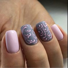 Newest Nail Art Designs Gallery fabulous new nail art design for prom dinga poonga Newest Nail Art Designs. Here is Newest Nail Art Designs Gallery for you. Newest Nail Art Designs nail art 2019 top trends you should look out for all. Fancy Nails, Trendy Nails, Cute Nails, Grey Nail Art, Gray Nails, Pastel Nails, Acrylic Nails, Nail Pink, Shellac Nail Art