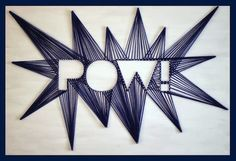 POW! String Art.