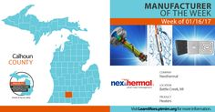 Nexthermal was our Manufacturer of the week for the week of 1/16/17