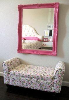 DIY pink frame