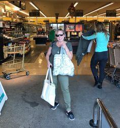 Green Bag Lady--Colorado, USA