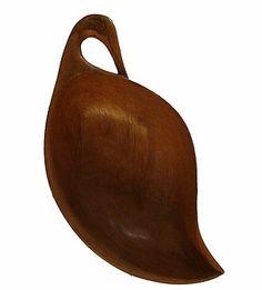 Walnut wood Bowl, Kashmir, Hand carved walnut wood Bowl, Indian art, Exotic India, Indian handicraft