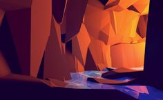 Low-Poly [Non-Isometric] on the Behance Network