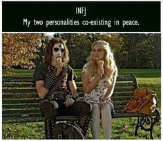 INFJ my two personalities coexisting in peace