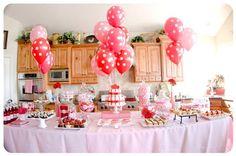 Southern Blue Celebrations: Valentine Party Ideas