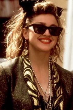 80s Madonna! -- setting style trends for her fans and millions of others around the world