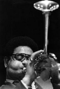 Dizzy Gillespie by Ulli Schwenn (1966).