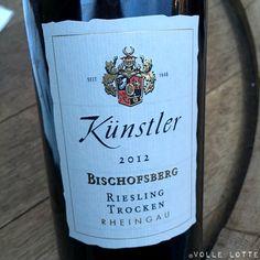 """2012 Bischofsberg """"Alte Rebe"""" Riesling trocken Weingut Künstler"""