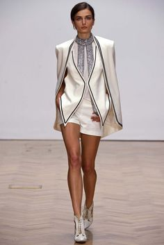 The trends of London fashion week S/S 2013