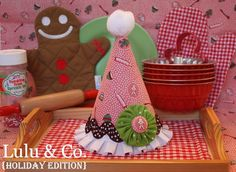 Gingerbread Hat   {Lulu & Co. Holiday Collection}